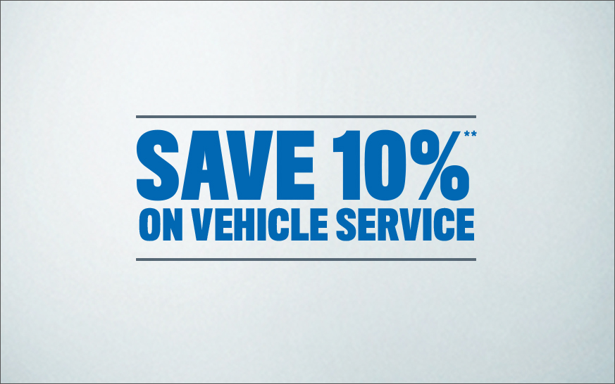 Get 10% off Vehicle Service